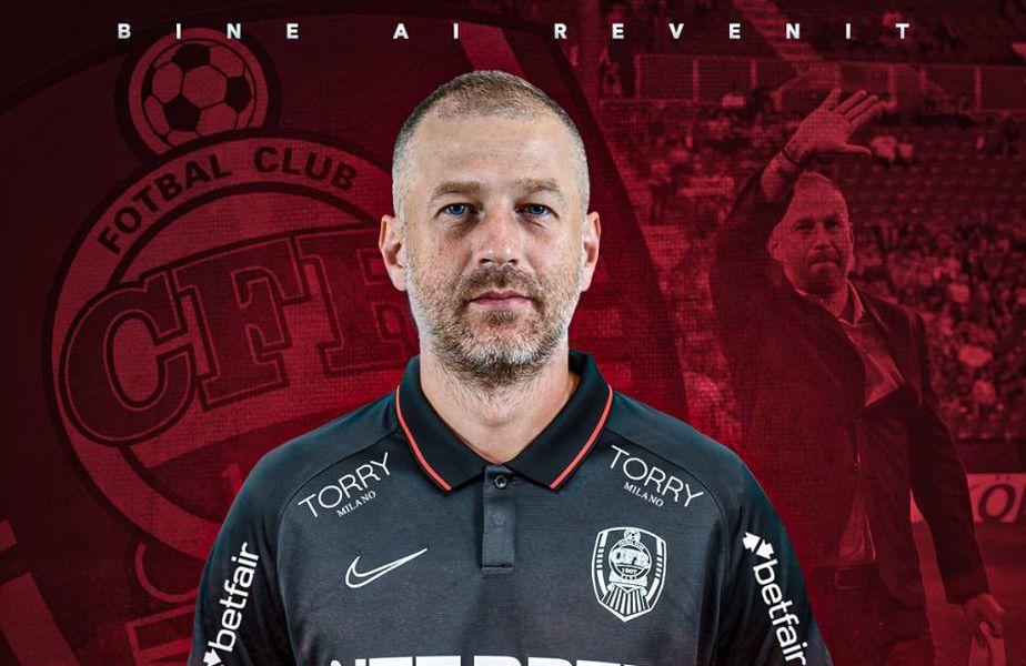 Edi Iordănescu, 42 de ani, este noul antrenor al lui CFR Cluj. Campioana României a anunțat numirea pe site-ul oficial.