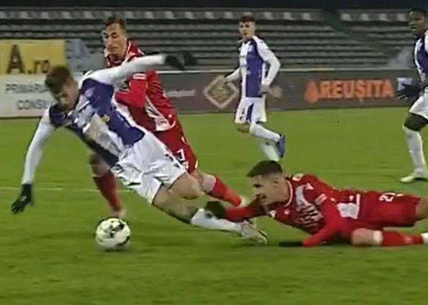 Dinamo a învins-o pe FC Argeș în deplasare, scor 1-0, într-un meci din etapa #12. Gazdele meritau să beneficieze de un penalty în prelungirile partidei.