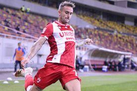 """FC Argeș - Dinamo 0-1. Aleix Garcia, discurs de adio: """"Muncim până pe 20 decembrie. După, vom vedea"""""""