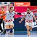 Croatele se bucură după victoria surpriză de la Euro FOTO: Stanko Gruden / kolektiffimages