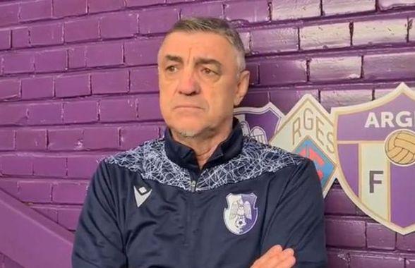 """FC Argeș - Dinamo 0-1. Antrenorul piteștenilor, dezarmat: """"De 50 de ani nu am văzut așa ceva!"""""""