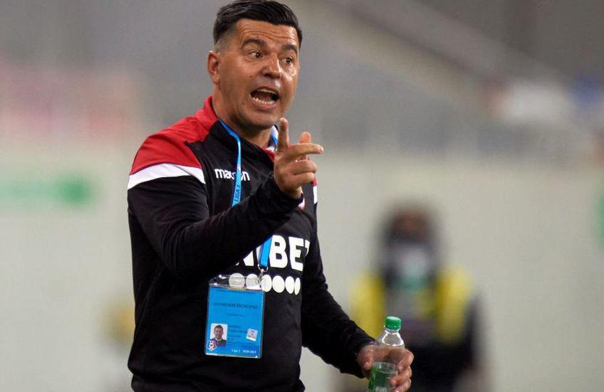 """Dinamo a învins-o pe FC Argeș în deplasare, scor 1-0, într-un meci din etapa #12. Cosmin Contra, fostul antrenor al """"câinilor"""", a criticat încă o dată conducerea clubului, imediat după finalul partidei din Trivale."""