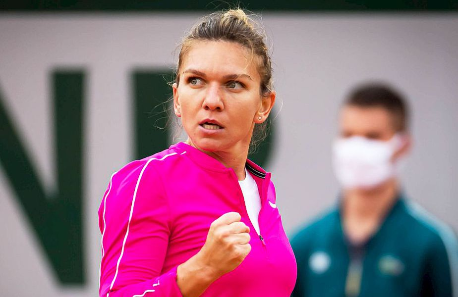 Simona Halep, 29 de ani și număr 2 WTA, a anunțat că va face vaccinul anti-COVID, foto: Imago