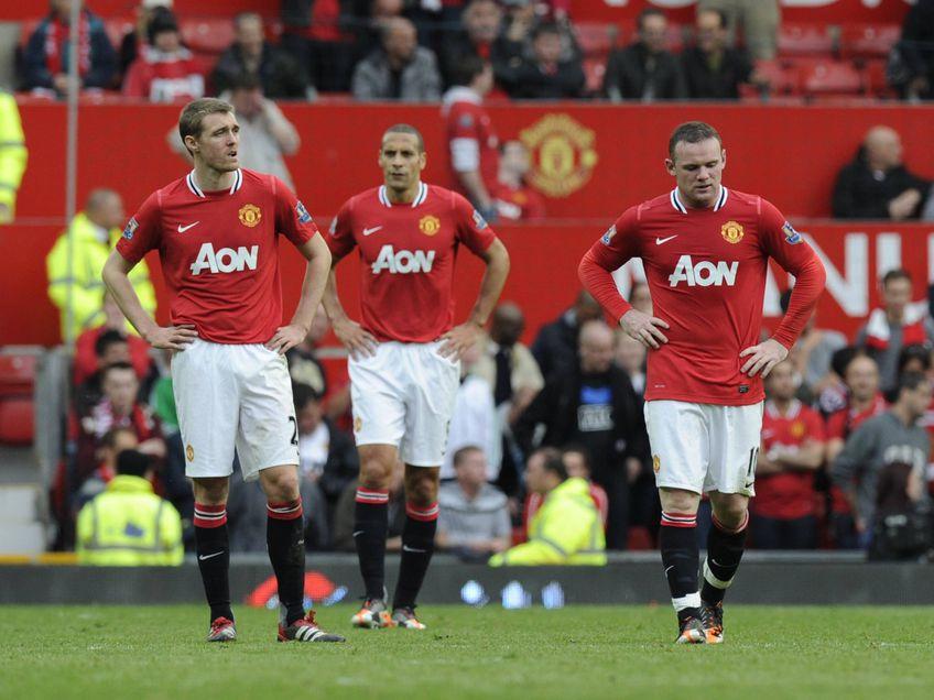 Darren Fletcher, Rio Ferdinand și Wayne Rooney FOTO Imago