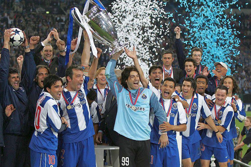 Jorge Costa, numărul 2 a câștigat Liga Campioniolor cu Porto // FOTO:Imago