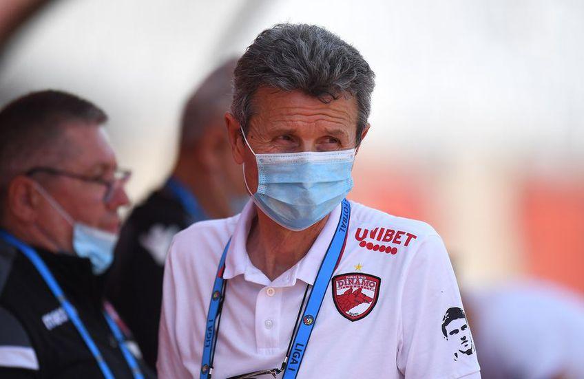 Gigi Mulțescu a antrenat-o în 4 rânduri pe Dinamo