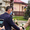 Simona Halep, în vizită la Valea Doftanei. Sursă foto:facebook.com/lucianvileford.costea