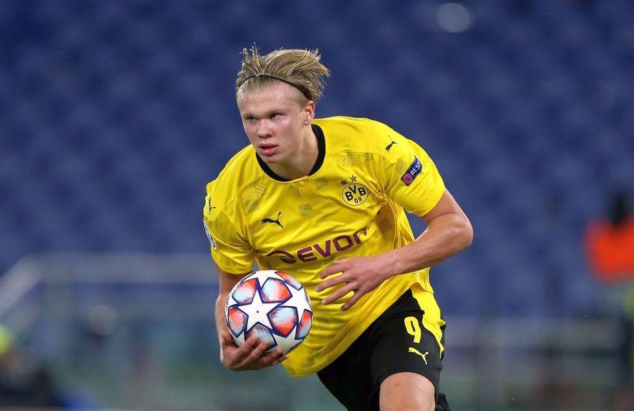 Erling Haaland (20 de ani), atacantul celor de la Borussia Dortmund, este principala țintă pentru Manchester City în vara următoare.