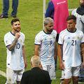 Sergio Aguero, numărul 9,e coleg cu Messi la naționala Argentinei // FOTO: Guliver/GettyImages