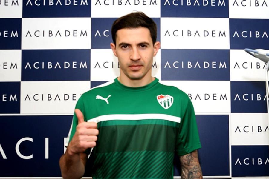 Bogdan Stancu, mulțumit la prezentarea în tricoul Bursaspor