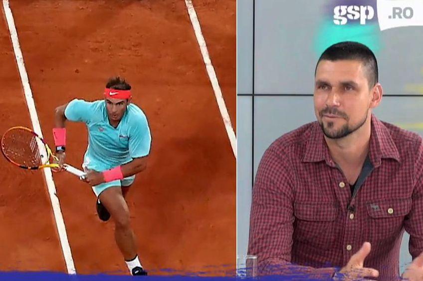 Victor Hănescu a explicat la GSP Live cât de greu e să-l înfrunți pe Nadal pe zgură