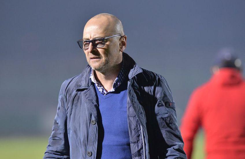 Leo Grozavu, 53 de ani, antrenorul lui Sepsi, a fost extrem de supărat la flash-interviu, după eșecul contra Chindiei, scor 0-1 pe teren propriu.