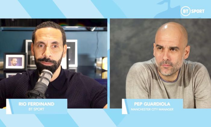 Guardiola, interviu de impact cu Rio Ferdinand: de ce se răstește la jucători și după victorii și de ce mentalitatea din Anglia e superioară