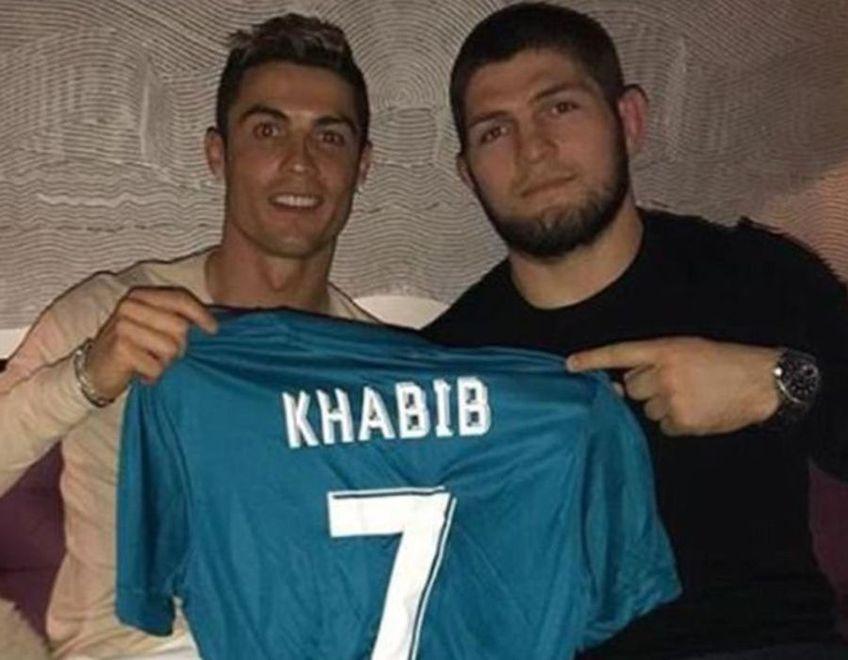 Khabib Nurmagomedov (32 de ani) și Cristiano Ronaldo (36 de ani)