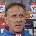 Emil Săndoi, 56 de ani, antrenorul Chindiei, își laudă jucătorii după victoria cu FC Voluntari, 1-0, și are încredere că târgoviștenii se pot califica în play-off.