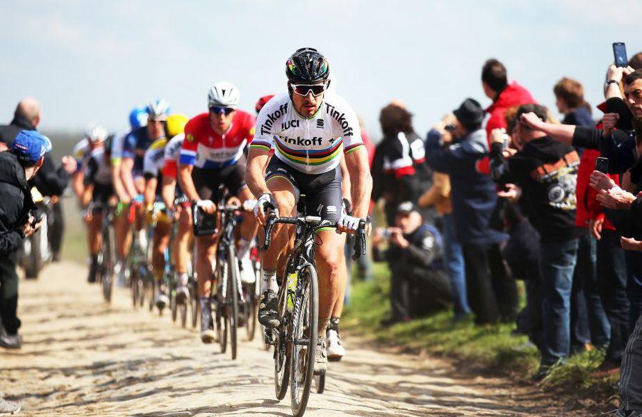 Peter Sagan în Paris-Roubaix 2016, foto: Guliver/gettyimages