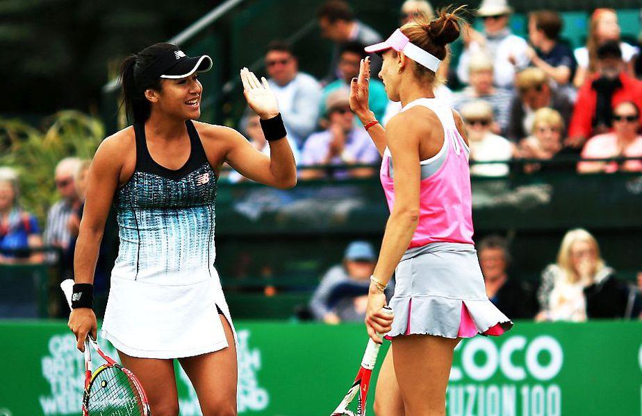 Miki Buzărnescu (dreapta, 120 WTA) poate beneficia de pe urma fondului creat // sursă foto: Guliver/gettyimages