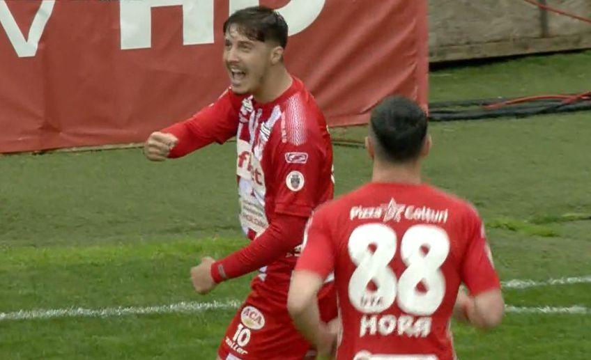 UTA a învins-o pe Astra în deplasare, scor 2-1, în etapa cu numărul 6 a play-out-ului din Liga 1.