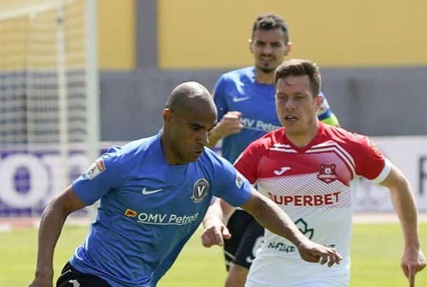 Hermannstadt și Viitorul au remizat, scor 0-0, în etapa cu numărul 6 din play-out-ul Ligii 1 // Foto: Facebook Viitorul