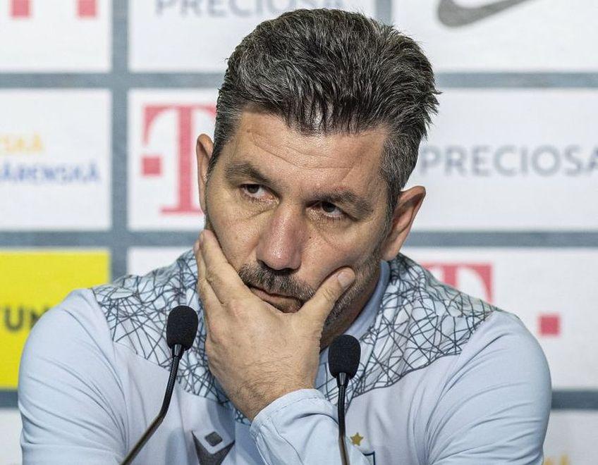 Marinos Ouzounidis (52 de ani) a punctat din nou încrederea scăzută din sânul echipei și recunoaște că titlul nu e un obiectiv realist în acest sezon.