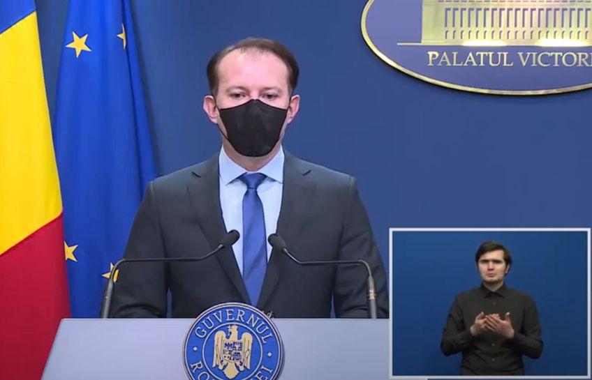 Premierul Florin Cîțu a declarat că accesul pe Arena Națională, la meciurile de la Euro 2021, va fi permis doar persoanelor vaccinate.