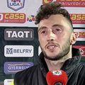 Mirko Pigliacelli (27 de ani), portarul celor de la CS Universitatea Craiova, a fost extrem de iritat la finalul eșecului cu Sepsi, scor 0-2.