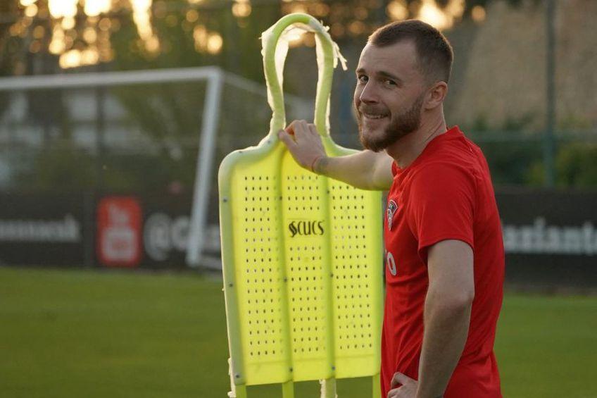 Alex Maxim este împrumutat de Mainz la Gaziantep // sursă foto: Facebook @ Gaziantep Futbol Kulubu