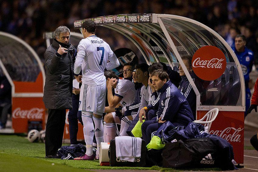 Cristiano Ronaldo și Jose Mourinho, la un pas de bătaie