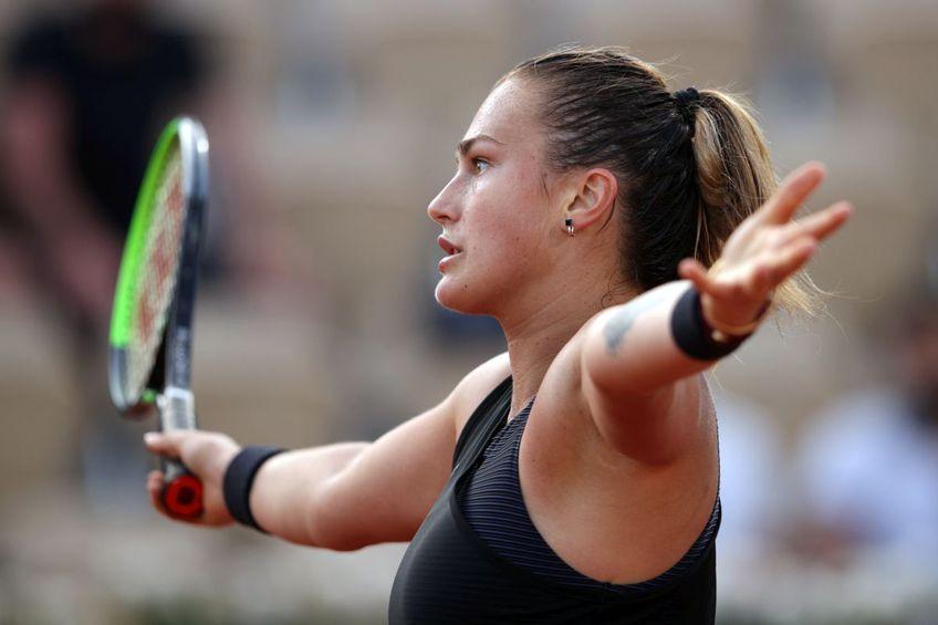 Aryna Sabalenka nu-și explică eliminarea de la Roland Garros. FOTO: Guliver/Gety Images