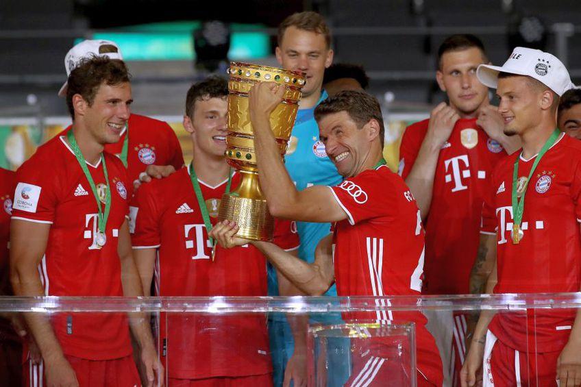 Bayern Munchen a câștigat Cupa Germaniei // FOTO: Guliver/GettyImages
