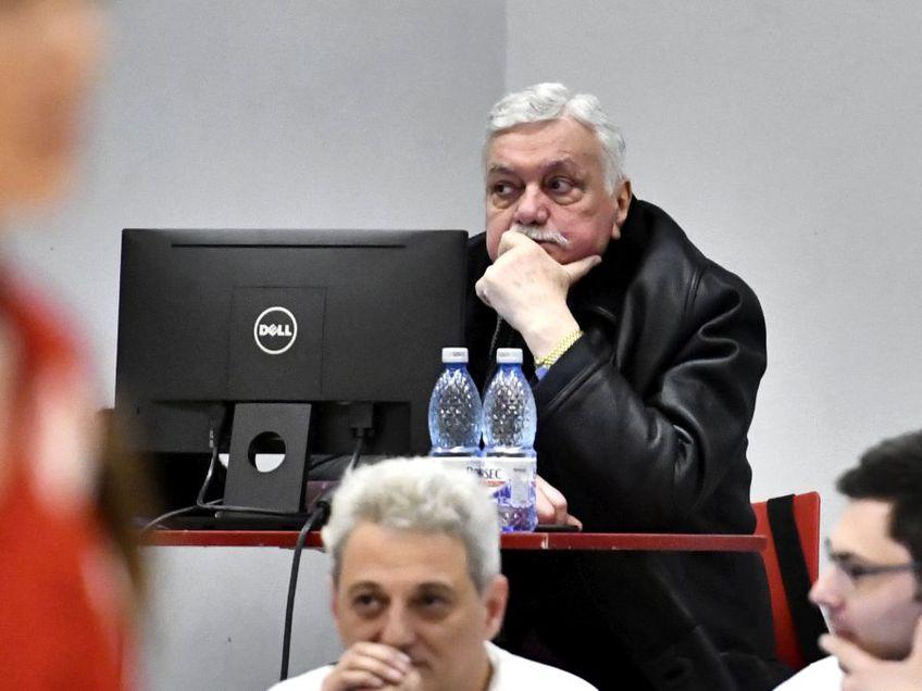 Gheorghe Vișan, președintele cu 16 ani vechime FOTO sportpictures.eu