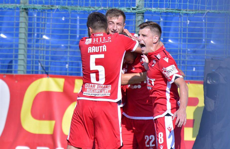 Dinamo s-a impus la Clinceni, scor 3-1