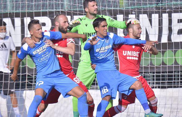 """CLINCENI - DINAMO 1-3. Ilie Poenaru: """"Băieții mi-au zis la pauză «Mister, îi batem rău de tot»"""""""