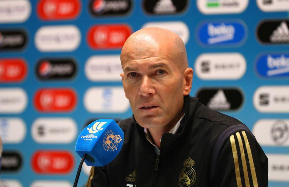 Zidane s-a enervat după Bilbao - Real 0-1