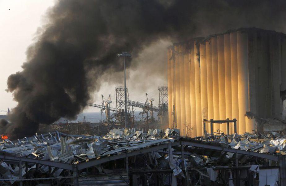 Libanul este în doliu în urma exploziilor de proporții care au zguduit marți capitala Beirut. foto: Guliver/Getty Images