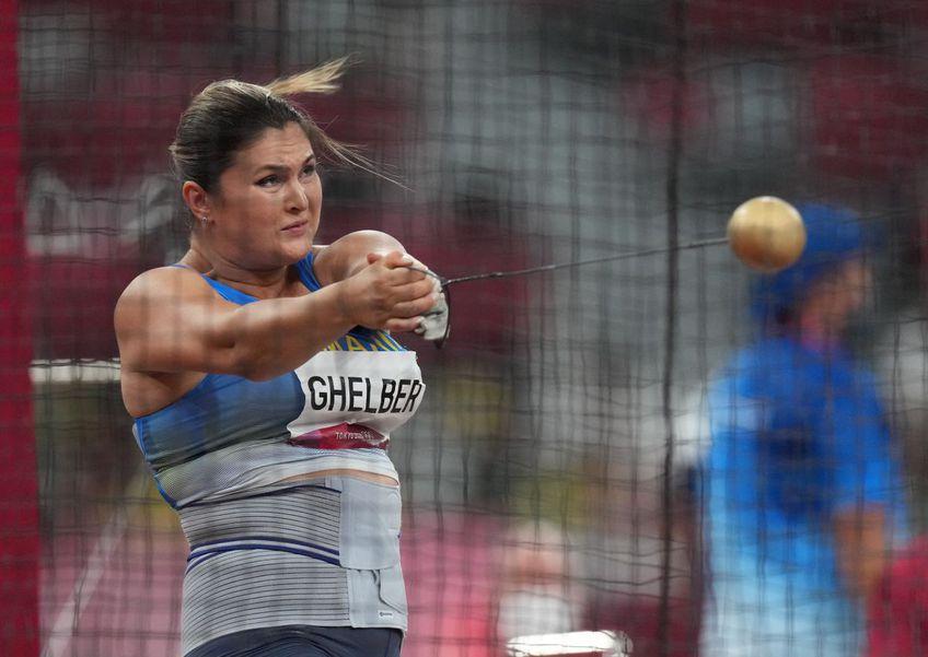 Bianca Ghelber, sportivă antrenată de Mihaela Melinte // FOTO: Raed Krishan