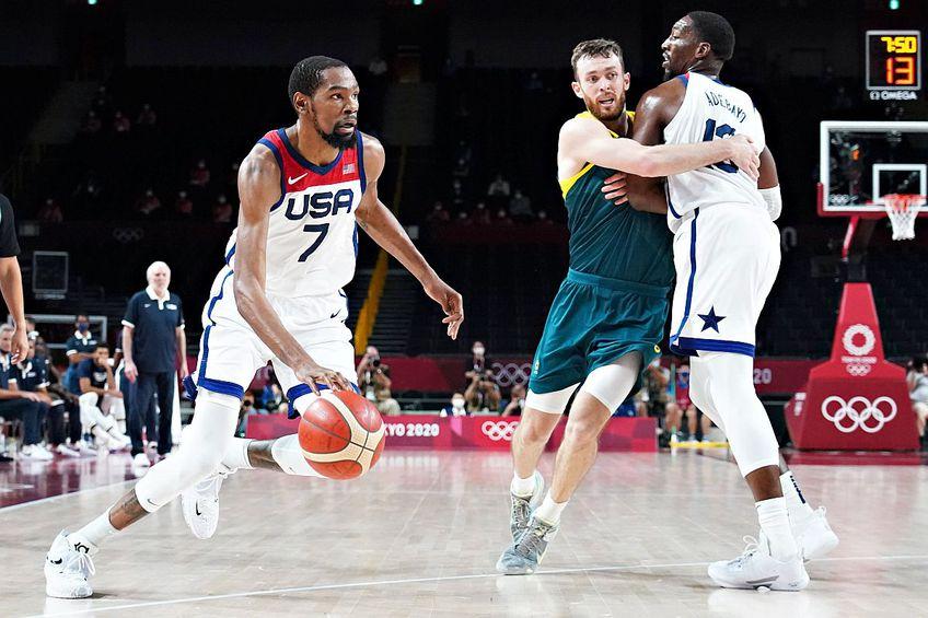 SUA defilează la baschet cu trupa din NBA, care, ca de obicei, e una dintre atracțiile majore la Olimpiadă, foto: Imago