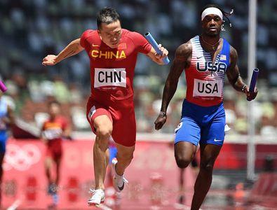 """Surpriză colosală în proba de ștafetă 4x100m: echipa SUA s-a făcut de râs! » Marele Carl Lewis nu iartă: """"O rușine incredibilă!"""""""
