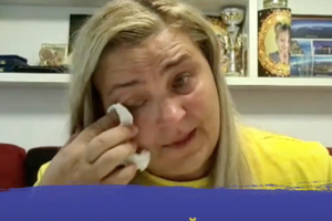 """Momente tulburătoare în direct » A izbucnit în lacrimi, în timpul dialogului cu Costin Ștucan: """"Puneți-vă în situația mea!"""""""