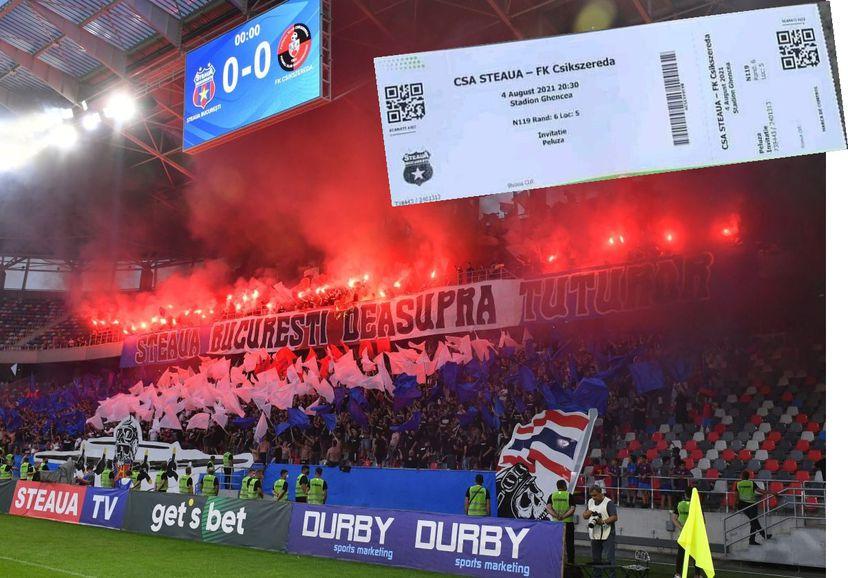 Steaua a câștigat primul meci de la promovarea în Liga 2, scor 1-0, contra celor de la Csikszereda. O controversă a aprins disputa dintre fani în orele care au urmat partidei.