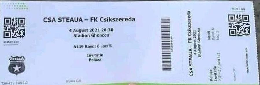 Misterul invitațiilor din peluză, de la Steaua - Csikszereda » De la ce au pornit contrele între fani și care este realitatea