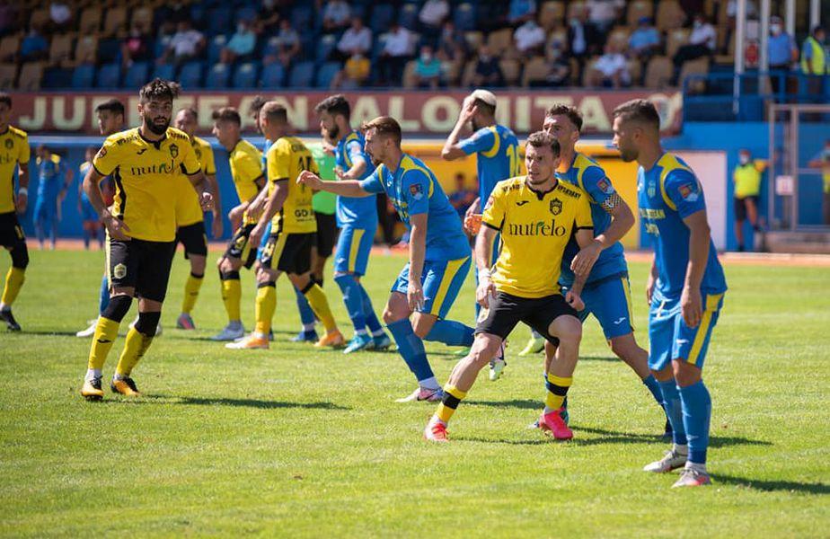 Ștefan Bărboianu (32 de ani), fundașul celor de la Turris Turnu Măgurele, a rămas cu o rană serioasă după remiza obținută cu Metaloglobus, scor 2-2.