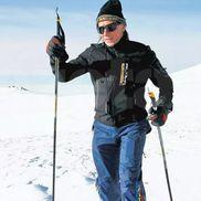 Adept al cantonamentelor la altitudine, pe schiuri, la Piatra Arsă FOTO Cristi Preda