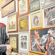 Ivan Patzaichin era un obișnuit al galeriilor de artă  / foto: Gazeta Sporturilor