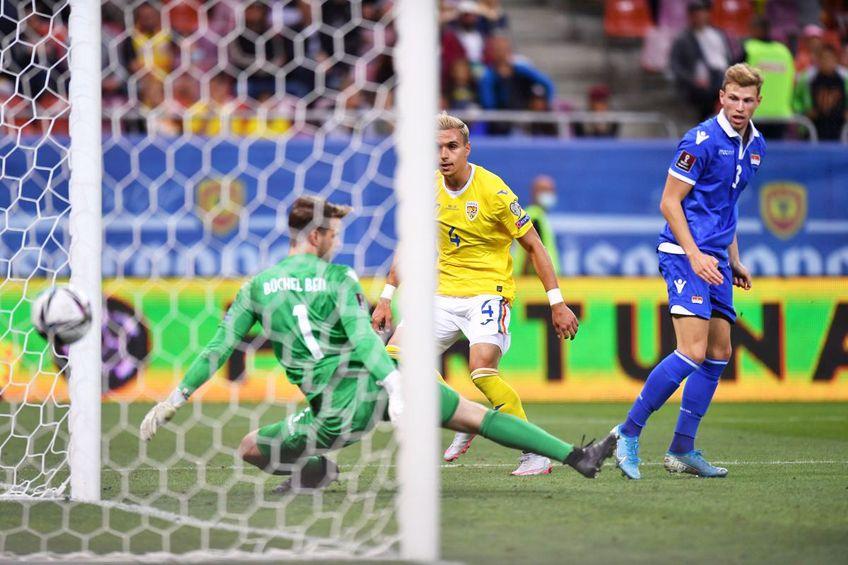 România - Liechtenstein» Preliminarii Campionat Mondial // foto: Raed Krishan - GSP