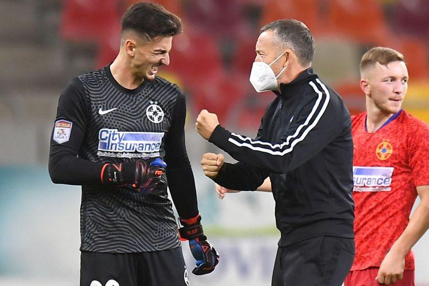 MM Stoica, la finalul meciului cu Dinamo. foto: GSP