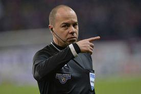 Gaz Metan - Hermannstadt 1-1. Decizie controversată: Marius Avram a judecat cu două măsuri!