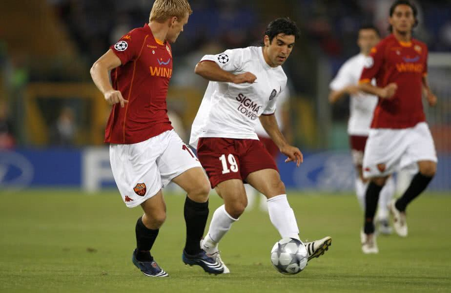"""Emmanuel Culio a reușit o """"dubă"""" în AS Roma - CFR Cluj 1-2, în 2008"""