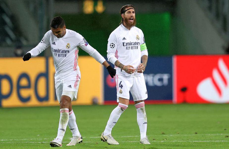 Sergio Ramos (dreapta) a marcat golul #100 pentru Real Madrid în meciul cu Inter, scor 3-2 // foto: Guliver/gettyimages