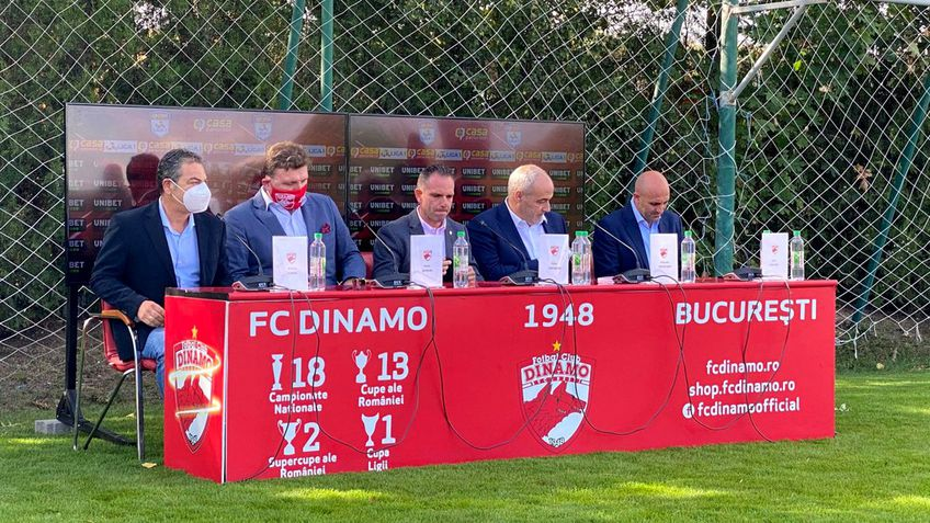 Conducerea spaniolă de la Dinamo